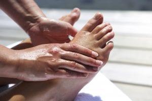 Lymfan lymfmassage fot